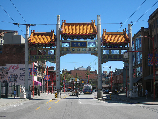 <p>The Millennium Gate literally the gate to Chinatown. It was built in 2002, which explains its name, reminding the turn of the millennium.</p>