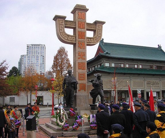 <p>It is also around that monument that Veterans Day is celebrated each year.</p>