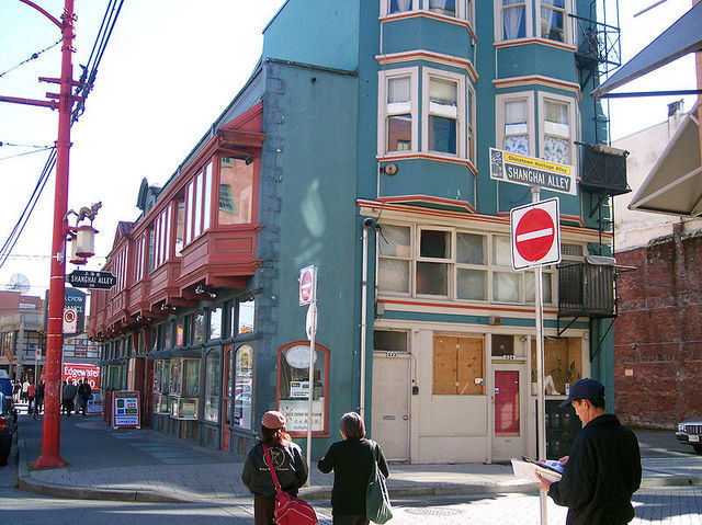 <p>Its basement still spreads as far as underneath the sidewalks. At the time, that same basement was used as the only public baths of Vancouver&rsquo;s Chinatown.</p>