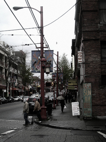 <p>Commercial and residential buildings shared the space, so that people living in Chinatown could have access to everything they needed within this very same neighbourhood. It is one reason why the Chinese population of Vancouver is used to living close and having a very tight community.</p>