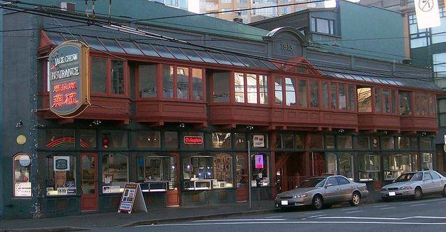 <p>Pourtant, en 1913, les architectes Brown et Gillam ont construit&nbsp;le Sam Kee Building.</p>