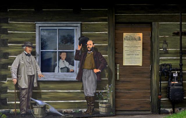 <p>&Agrave; gauche de la photo, le Major Henry Beckett, responsable de la construction de la premi&egrave;re prison de Sherbrooke et des premiers b&acirc;timents de l&rsquo;Universit&eacute; Bishop. Le bois&eacute; Beckett porte sont nom de nos jours.<br /><br />&Agrave; droite, Alexandre Galt Lomas, maire &agrave; partir de 1883. La rue Galt lui rend hommage aujourd&#39;hui.</p>