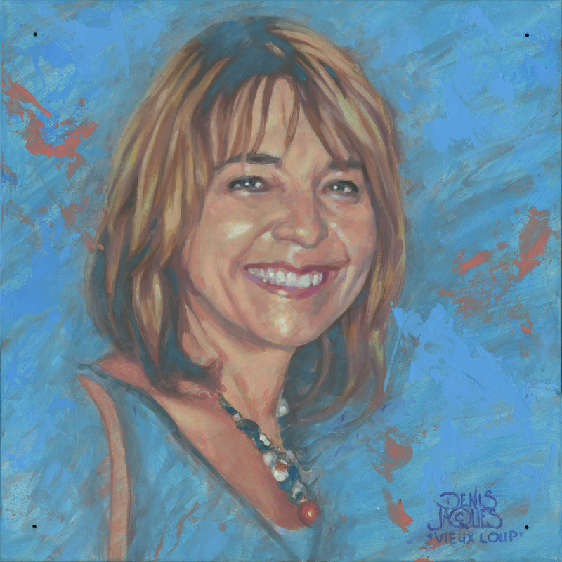 <p>Denis Jacques, un portraitiste, a voulu rendre hommage &agrave; une artiste connue de la r&eacute;gion de l&rsquo;Estrie, madame Jos&eacute;e Perreault, qui est d&eacute;c&eacute;d&eacute;e en 2013.</p>