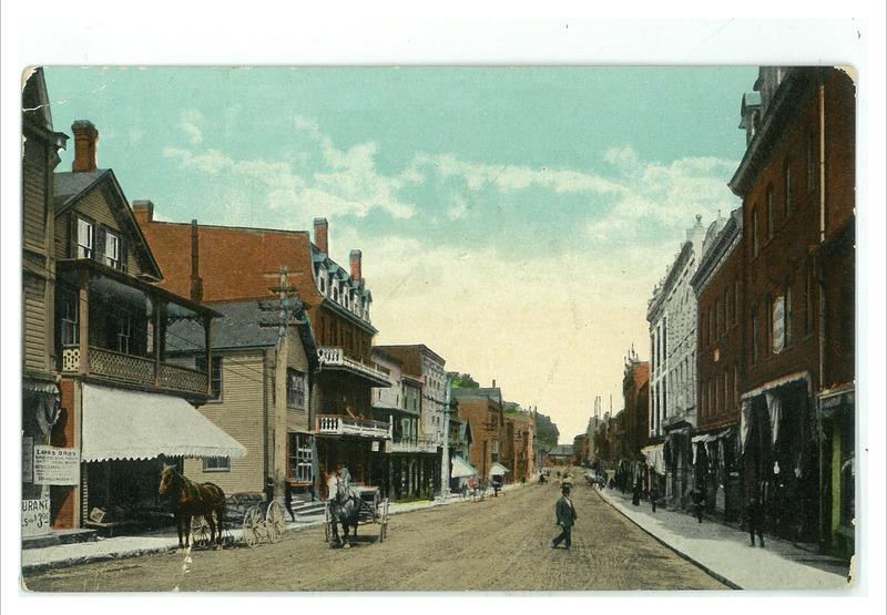 <p>Rue Wellington, &agrave; une toute autre &eacute;poque...<br /><br />Source photo: BanQ p14,s71,p14</p>
