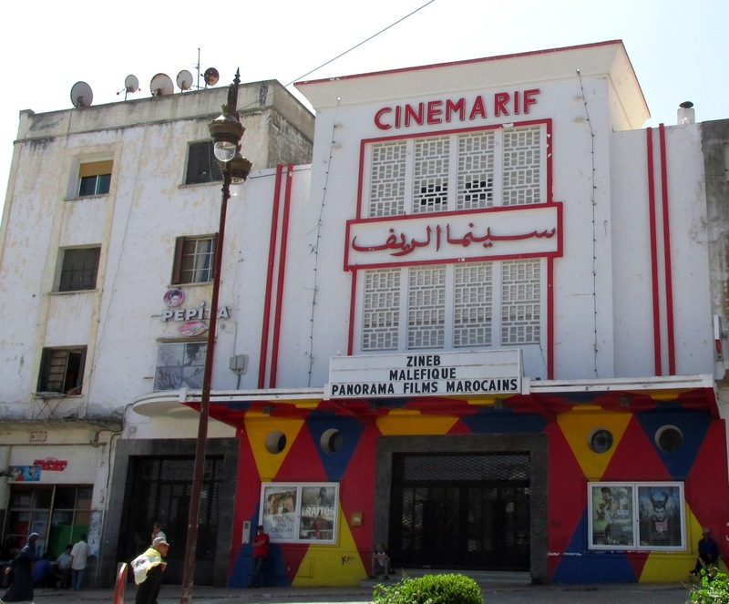 <p>Another building characteristic of the place is the Cinema Rif. Built in 1948 under the name of Cinema Rex, it was reformed in 2007 by a group of artists in order to welcome the head office of the Cinematheque de Tanger. Reference institution in the city, it has become a one of a kind cultural centre throughout North Africa.<br /><br />In addition to the projection of current and classic films, Cinema Rif offers a great variety of cultural events. For example, you can see actors and attend concerts. Kids also receive teacher training.<br /><br />The archives of Cinema Rif, which count over a thousand audiovisual documents, are the memory of the Moroccan, North African and the whole Middle East cinema. A refreshment room and a terrace pleasantly welcome the regular clients as well as the tourists who come for tea and to breathe the atmosphere of this place.</p>