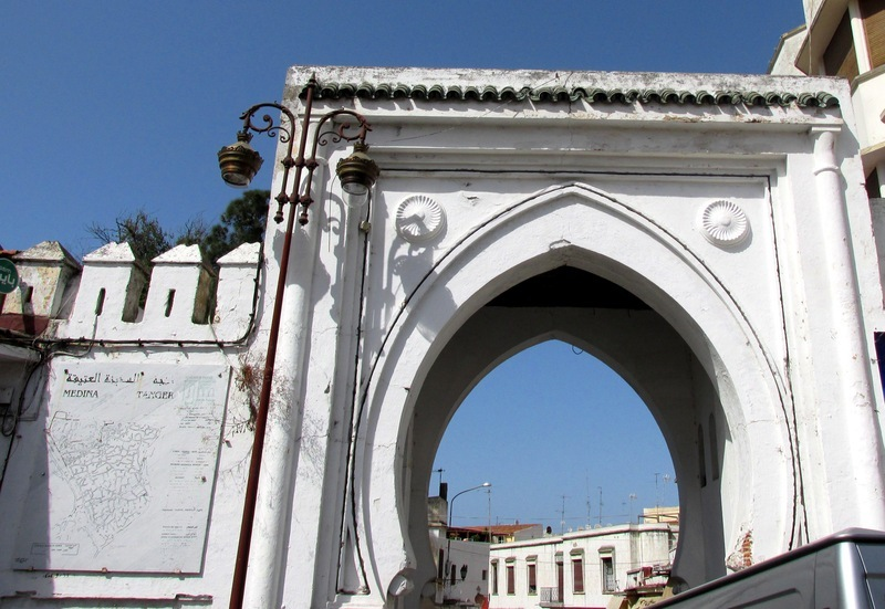 <p>On the other side of the Grand Socco place you can find Bab al Fahs&#39;s door, which you will cross to reach the Medina. On the adjacent street, many colonial-style buildings, like Cafe Colon, show the rich history of Tangier.</p>