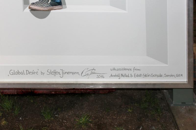 <p>Signature de Steffen Junemann ainsi que ses assistants</p>