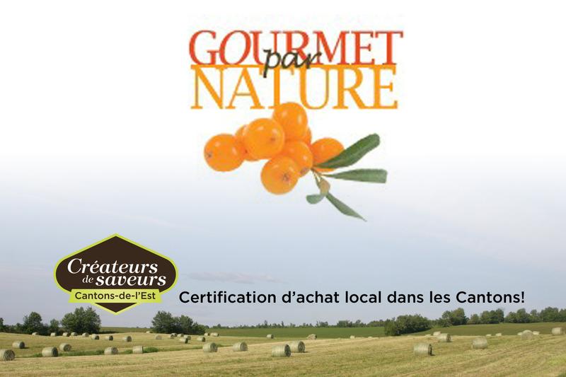 <p>Gourmet par Nature est une entreprise sp&eacute;cialis&eacute;e dans la transformation alimentaire de la baie d&rsquo;argousier.</p>