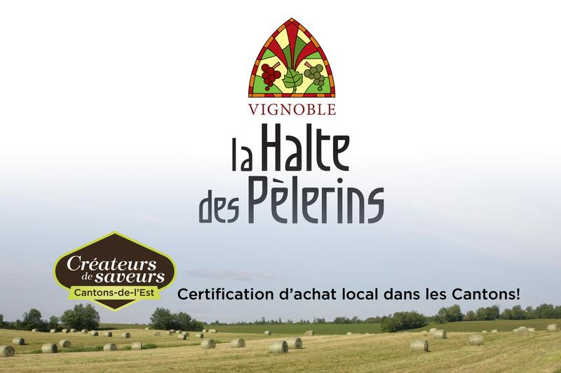 <p>N&eacute; d&#39;une terre en friche en 1998, le vignoble La Halte des P&egrave;lerins ouvre ses portes en 2008, avec 20 000 vignes en terre.</p>