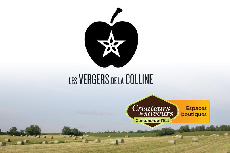 <p>Les Vergers de la Colline sont &eacute;galement un Espace boutique pr&eacute;sentant une foule de produits des Cr&eacute;ateurs de saveurs Cantons-de-l&#39;Est.</p>