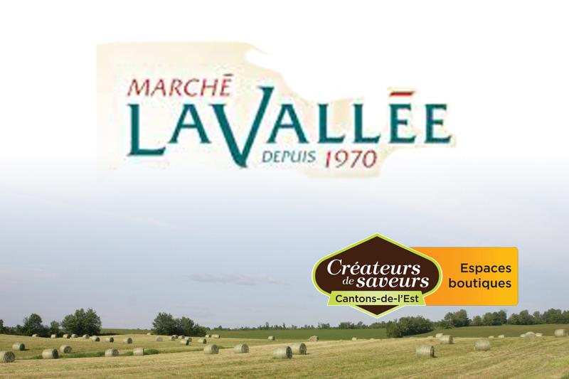 <p>March&eacute; Lavall&eacute;e<br />4298, Laval<br />Lac-M&eacute;gantic, QC<br />G6B 1B6<br />819 583-0617</p>
