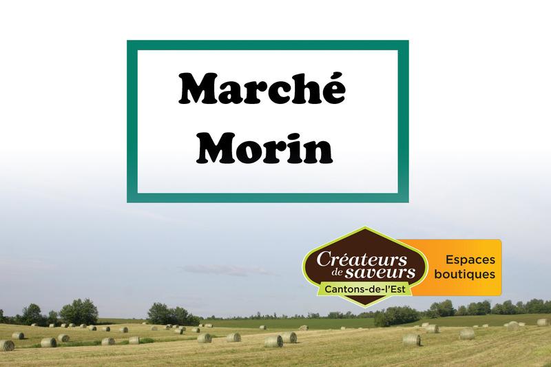 <p>March&eacute; Morin<br />220, rue Principale Sud<br />Waterville,&nbsp;QC<br />J0B3H0<br />819 837-2351</p>