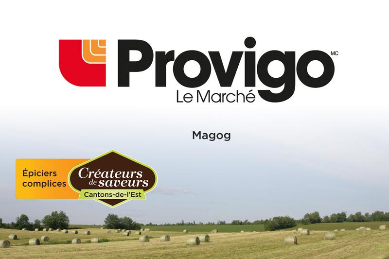 <p>Provigo Le March&eacute; Magog<br />1350, rue Sherbrooke<br />Magog, QC<br />J1X 2T3<br />819 868-8630</p>