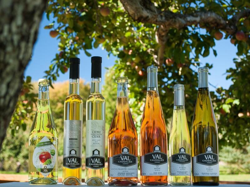 <p>Voici toute la famille! Les cidres et les vins!</p>