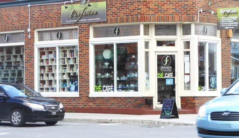 <p>L&#39;Infusion Boutique<br />299, rue Principale ouest<br />Magog , QC<br />J1X 2A8<br />819 868-0474<br /><a href='http://linfusionthecafe.com'>http://linfusionthecafe.com</a></p>