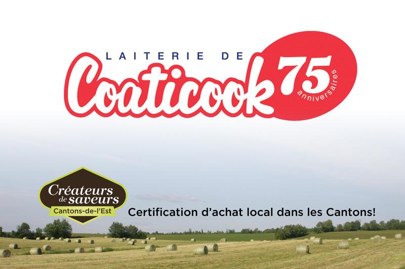 <p>La Laiterie de Coaticook f&ucirc;t fond&eacute;e en 1940 par messieurs Arthur B&eacute;dard, Arthur St-Cyr et Henri G&eacute;rin. Elle f&ecirc;te son 75e anniversaire en 2015. Dans ses d&eacute;buts, elle transformait seulement du lait de consommation, du lait au chocolat ainsi que de la cr&egrave;me.</p>