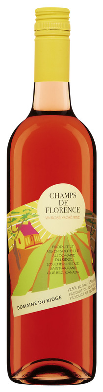 <p>Champs de Florence<br />&Eacute;labor&eacute; &agrave; partir du c&eacute;page Seyval noir, ce vin ros&eacute; sec d&eacute;veloppe des ar&ocirc;mes de petits fruits rouges et de grenade qui riment avec douceur et fra&icirc;cheur en bouche.</p>