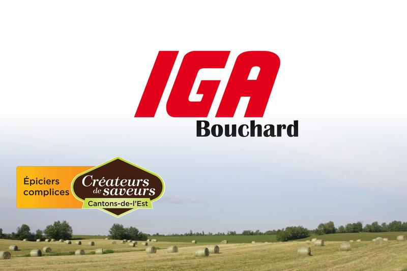 <p>IGA Bouchard<br />6185, Chemin de Saint-&Eacute;lie<br />Sherbrooke, QC<br />J1R 0L1<br />819 566-8555<br />&nbsp;</p>