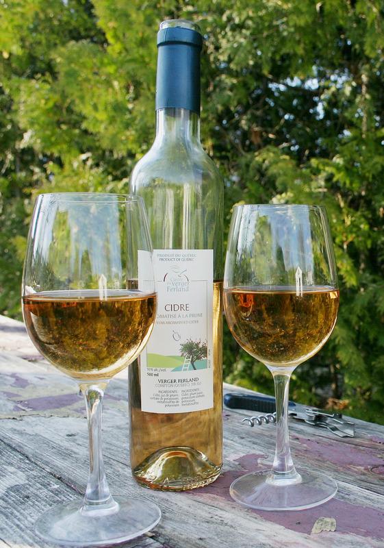 <p>Cidre aromatis&eacute; &agrave; la prune.</p>