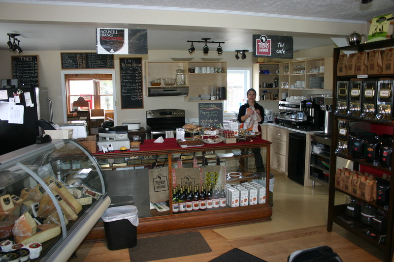 <p>Fromagerie Nouvelle-France<br />154, route 222<br />Racine, QC<br />J0E 1Y0<br />819 578-7234<br /><a href='http://www.fromagerienouvellefrance.com'>www.fromagerienouvellefrance.com</a></p>