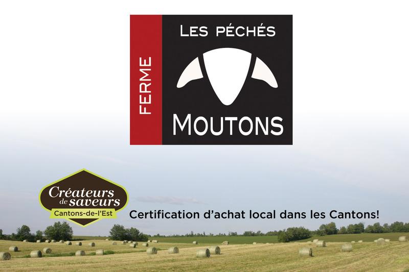 <p>La Ferme les P&eacute;ch&eacute;s Moutons vous propose le go&ucirc;t fin de l&rsquo;agneau d&rsquo;ici ainsi que des charcuteries et des mets cuisin&eacute;s o&ugrave; l&rsquo;agneau est mis en valeur par des saveurs de notre terroir et d&rsquo;ailleurs. Toutes nos recettes gourmandes sont concoct&eacute;es dans notre atelier de transformation artisanale et sont &eacute;labor&eacute;es sans additif, sans colorant, ni agent de conservation.</p>