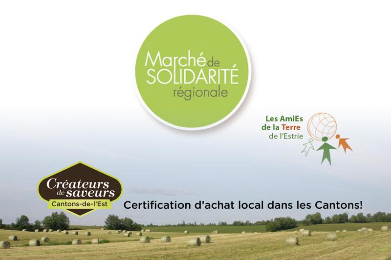 <p>March&eacute; de solidarit&eacute; r&eacute;gionale des AmiEs de la Terre de l&#39;Estrie<br />843, rue King Ouest<br />Sherbrooke<br />819 562-4413<br /><a href='http://www.portail.atestrie.com/'>www.portail.atestrie.com/</a><br /><br />lundi, mardi et vendredi de 9h &agrave; 16h30<br />mercredi et jeudi de 9h &agrave; 20h</p>