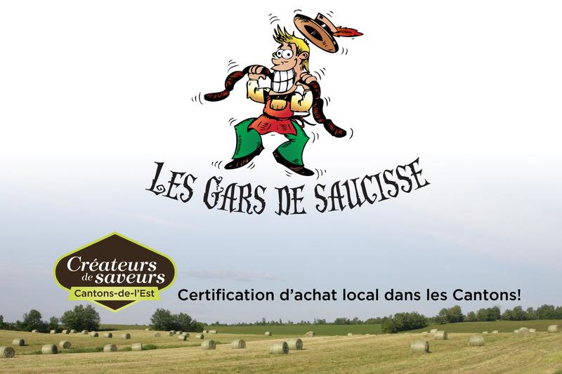 <p>Les gars de saucisse,&nbsp; une entreprise estrienne, vous souhaite la bienvenue dans l&rsquo;univers incomparable de la saucisse de qualit&eacute; et de bon go&ucirc;t.</p>