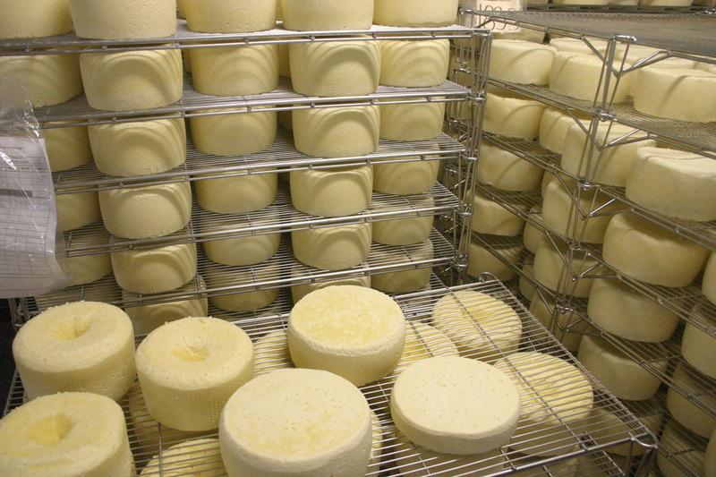 <p>Plusieurs types de fromages...</p>