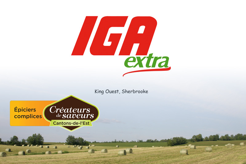 <p>IGA Extra King Ouest<br />3950, rue King Ouest<br />Sherbrooke, QC<br />J1L 1P6<br />819 563-5172</p>