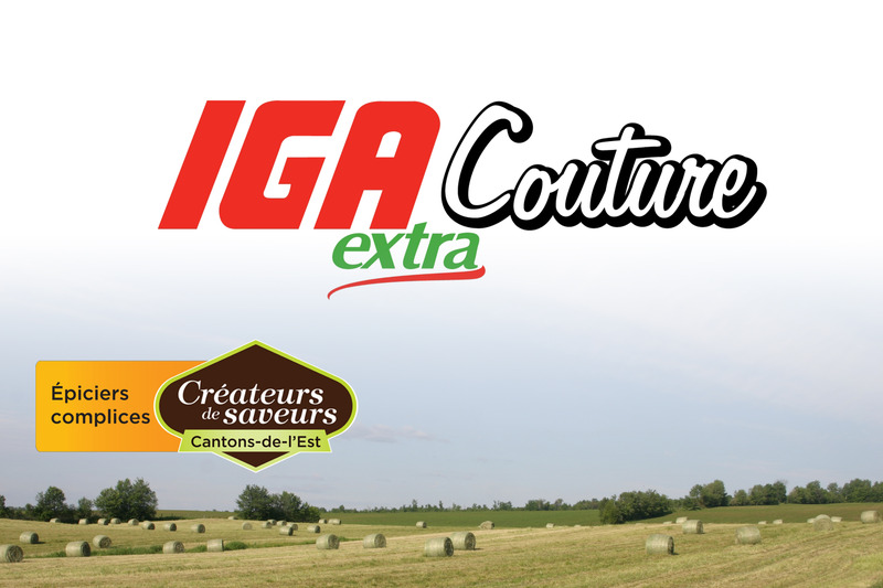 <p>IGA Extra Couture<br />2240, rue King Est<br />Sherbrooke,&nbsp;QC<br />J1G 5G8<br />819 566-8282</p>