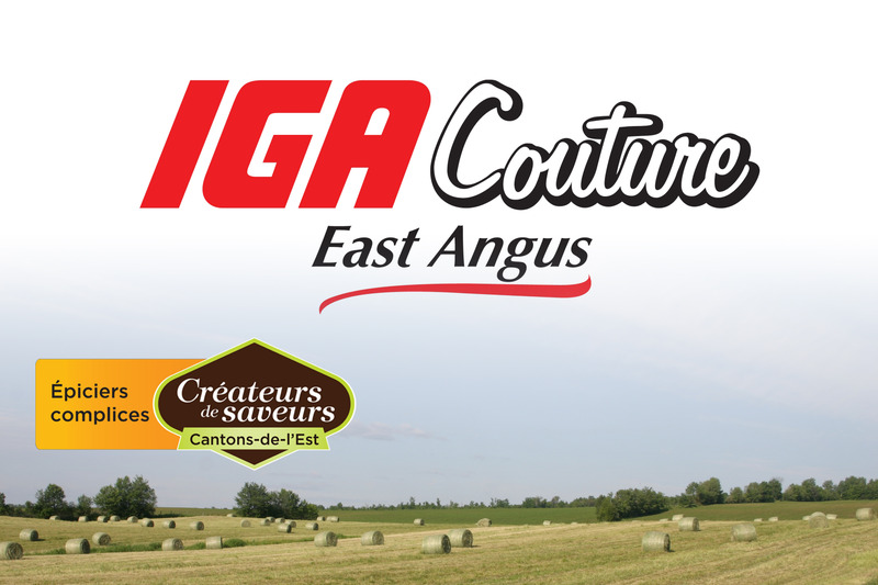 <p>IGA Couture East Angus<br />150, rue Angus Sud<br />East Angus, QC<br />J0B 1R0<br />819 832-2449</p>