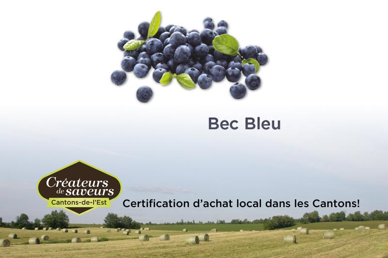 <p>Bec Bleu, autocueillette de bleuet</p>