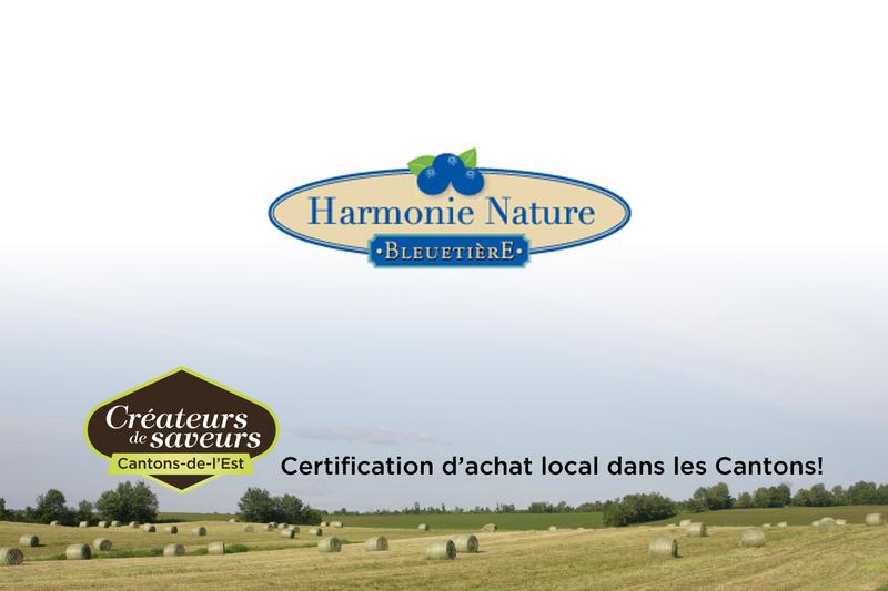 <p>La Bleueti&egrave;re Harmonie Nature est une entreprise familiale favorisant l&#39;agrotourisme.&nbsp;</p>