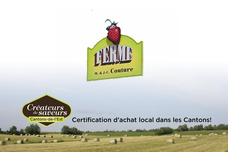<p>La ferme M et JC Couture produit des fruits et l&eacute;gumes &agrave; Stratford. Ils sont vendus directement &agrave; la ferme ainsi qu&rsquo;&agrave; deux points de vente.</p>