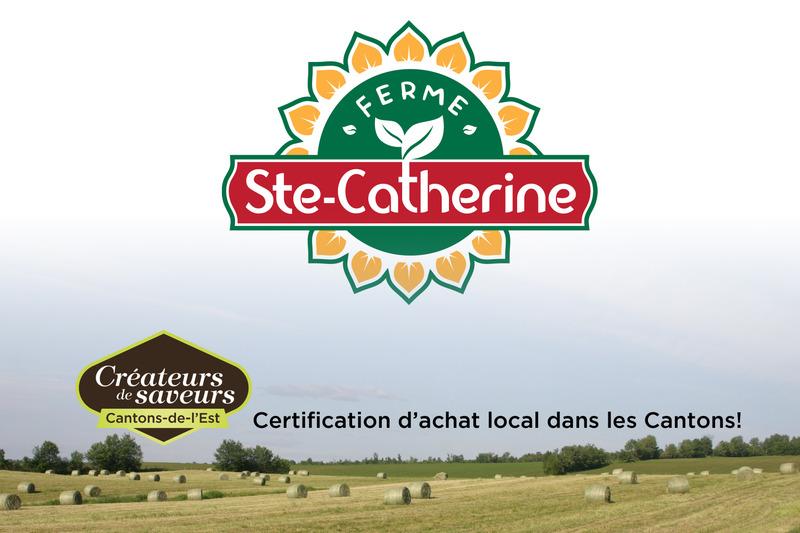 <p>La Ferme Ste-Catherine, situ&eacute;e &agrave; deux minutes de l&#39;Universit&eacute; de Sherbrooke, vous offre tous ses produits sur place.</p>