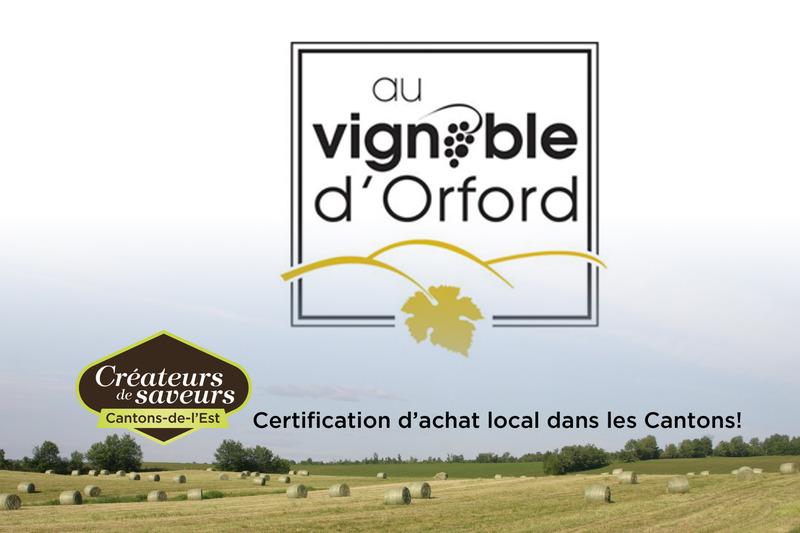 <p>Au Vignoble d&rsquo;Orford est situ&eacute; au c&oelig;ur de la r&eacute;gion d&rsquo;Orford, sur un site tout &agrave; fait magique.</p>