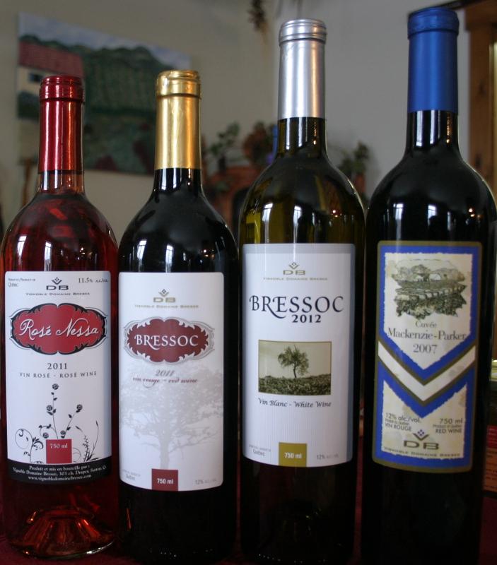 <p>Vignoble Domaine Bresee<br />303, Draper Hill<br />Sutton (Qu&eacute;bec)<br />J0E 2K0<br />450 538-3303<br /><a href='http://www.vignobledomainebresee.com'>www.vignobledomainebresee.com</a></p>