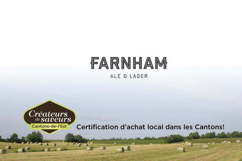 Microbrasserie Farnham Ale & Lager est en activité depuis 2012.