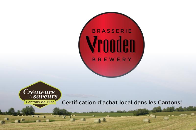 Brasserie Vrooden Inc est en activité depuis 2016.