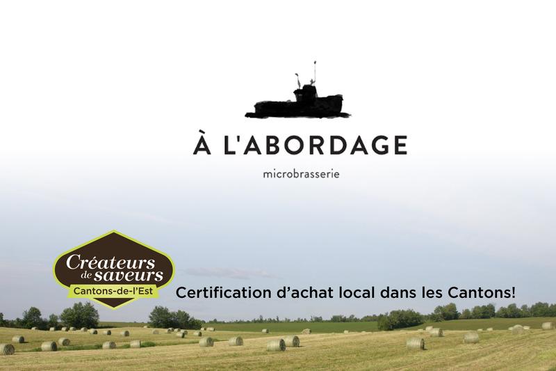 À L'Abordage Microbrasserie est en activité depuis 2015.