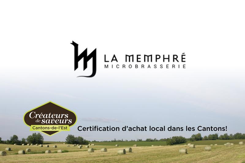 Microbrasserie La Memphré est en activité depuis 1999.