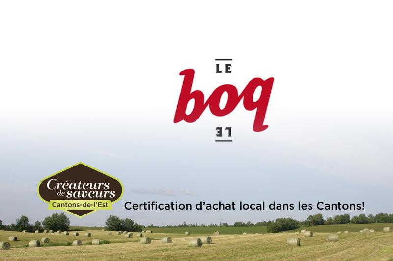Microbrasserie le BOQ est en activité depuis 2008.