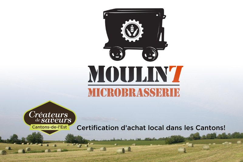 Microbrasserie Moulin 7 est en activité depuis 2014.