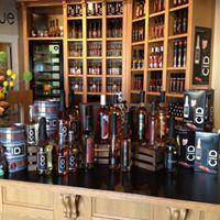 Un Espace boutique présentant une foule de produits des Créateurs de saveurs Cantons-de-l'Est.