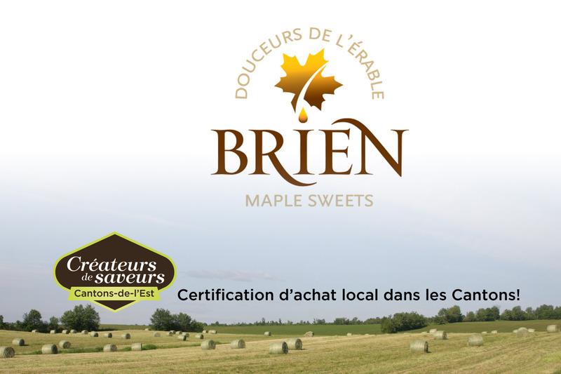 Les Douceurs de l&rsquo;&eacute;rable Brien<br />618, chemin de la grande ligne<br />Sainte-Anne-de-la-Rochelle (Qu&eacute;bec)<br />J0E 2N0<br />450 539-1475<br /><a href='http://www.brienonline.com'>www.brienonline.com</a>
