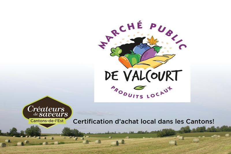 Parc Camille-Rouillard (rue St-Joseph au coin de la rue Desranleau)<br />Valcourt<br /><br />450 532-2030<br /><br /><a href='https://www.facebook.com/pg/marchepublicvalcourt/photos/?ref=page_internal#'>March&eacute; public de Valcourt</a>