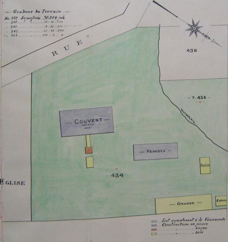 <p>Plan de la salle du conseil, modifi&eacute; en juin 1915.<br /><br />Collection: Archives financi&egrave;res de la Providence</p>