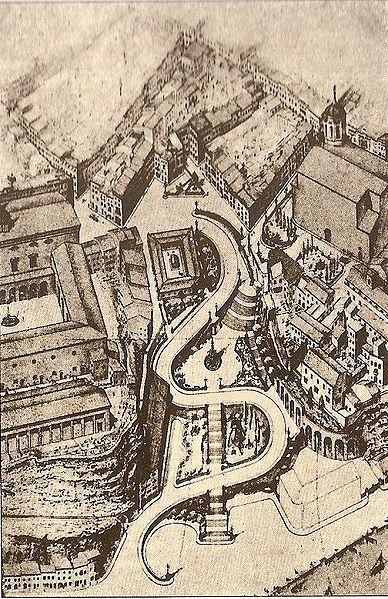 <p>Vous &ecirc;tes au pied de la Costa de ses Voltes, principale voie d&rsquo;acc&egrave;s entre la ville et la zone portuaire.<br /><br />La Costa de ses Voltes, construite &agrave; flanc de falaise en 1951, remplace la Costa Vella de Baixamar, laquelle a &eacute;t&eacute; lourdement bombard&eacute;e &agrave; la fin des ann&eacute;es 30 dans le contexte de la guerre civile. Plusieurs &eacute;difices abim&eacute;s par les bombardements ont d&rsquo;ailleurs &eacute;t&eacute; d&eacute;molis dans les ann&eacute;es 40, mais il y a de belles exceptions...</p>