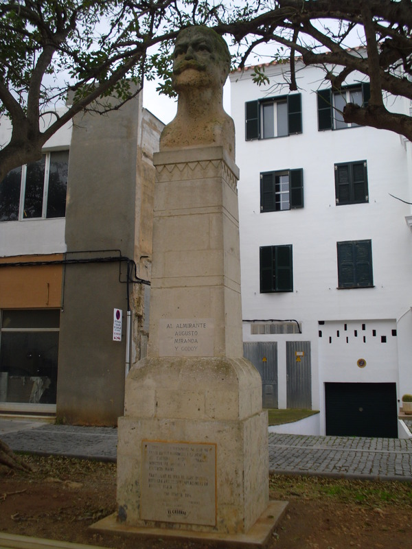 <p>This public place with the name of Augusto Miranda y Godoy - soldier, politician and writer - father of the &quot;Miranda Law&quot; which, in 1915, allowed to provide the Spanish navy with its first submarines.</p>