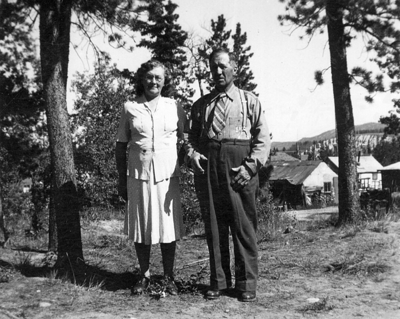 <p>Antoine settled in Whitehorse, where he bought horses and woodlots and started a wood-and-water delivery business.<br /><br />Photo: Antoine Cyr and his wife, Marie Beaudoin<br />Photo credit: Yann Herry Collection</p>